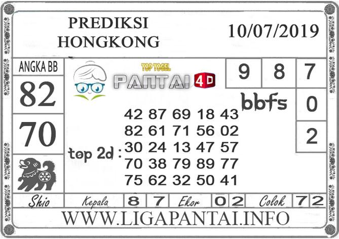 """PREDIKSI TOGEL """"HONGKONG"""" PANTAI4D 10 JULI 2019"""