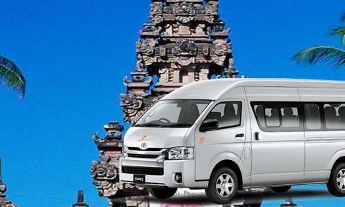 Rental Hiace sekitar Sindu Wati Sidemen Karangasem Bali
