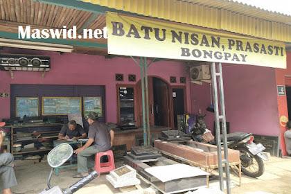 Jasa Prasasti dan Batu Nisan Bongpay di Kalimulya Depok di jamin Rapih