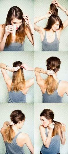 วิธีมัดผม
