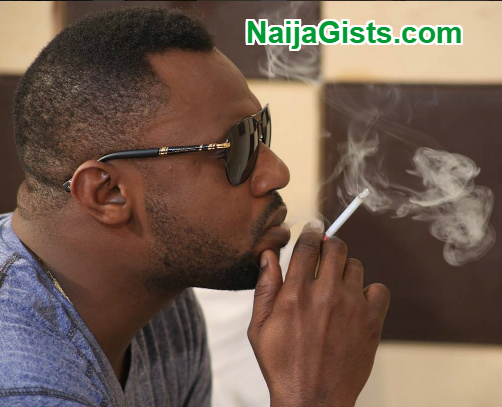 odunlade adekola smoking