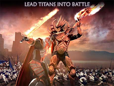 Dawn of Titans (Free Shooping + Unlimited Money) + Data(PowerVr) + Mod Apk for Android Terbaru