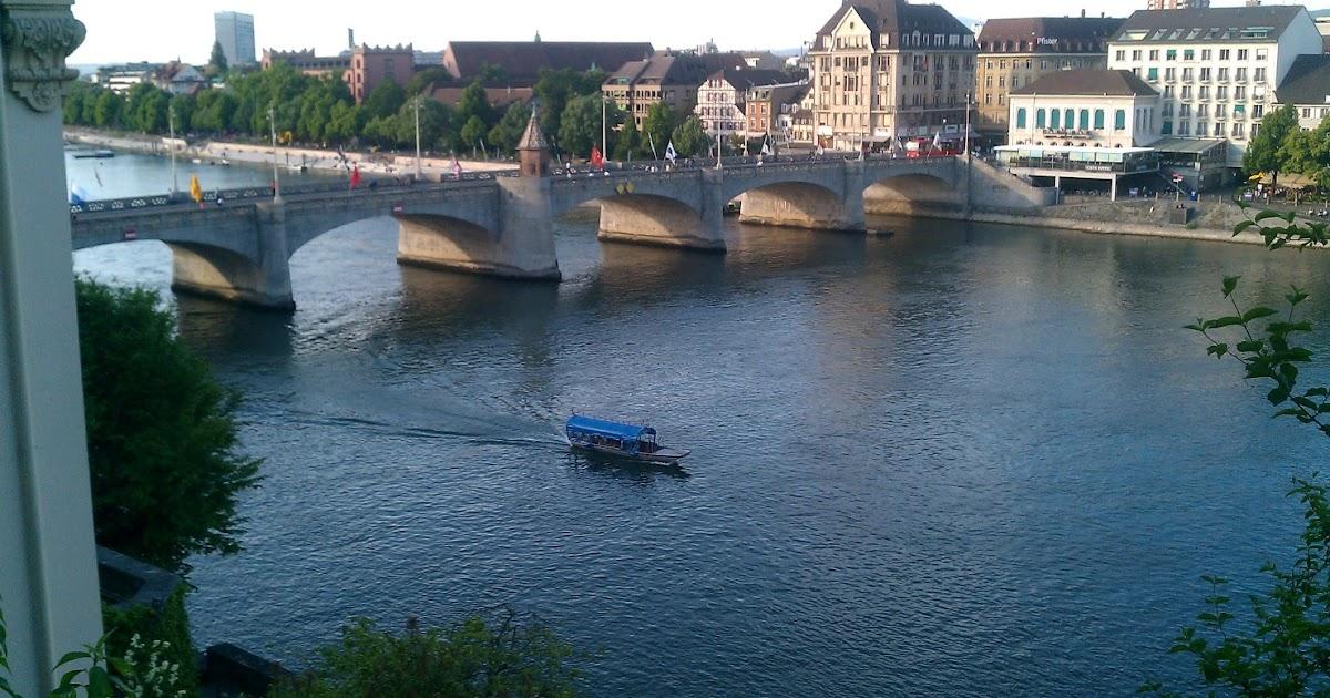 Running Routes Basel Switzerland Rhine Loop Running Route