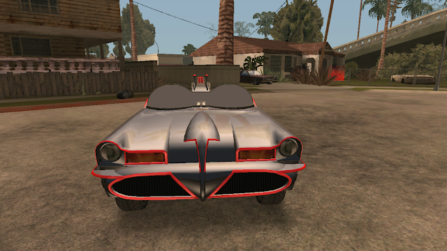 GTA V Vapid Peyote Batmobile 66 car mod android download gtaam
