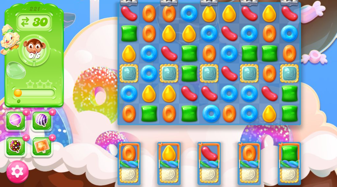 Candy Crush Jelly Saga 221