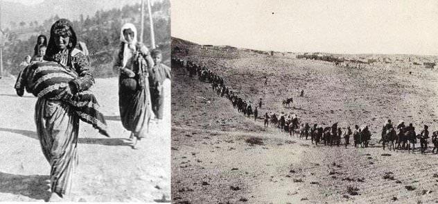 Ικανοί άνδρες θανατώθηκαν και οι υπόλοιποι Αρμένιοι βάδισαν στην έρημο