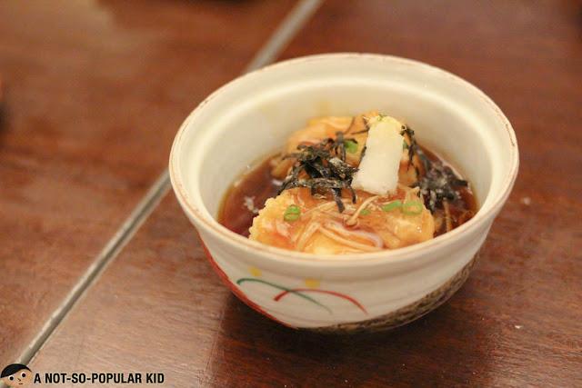 Agedashi Tofu of Tsumura