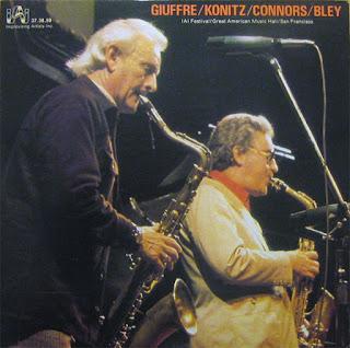 Jimmy Giuffre, Giuffre / Konitz / Connors / Bley