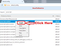 how to disable javascript mozilla firefox