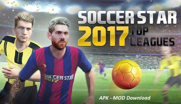 Download Soccer Star 2017 Mod Apk Unlimited Mone