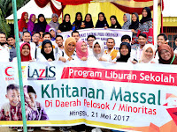 BSMI dan LAZIS PLN Sumut Kembali Adakan Program Sosial Kemanusiaan Berupa Khitanan di Daerah Pelosok