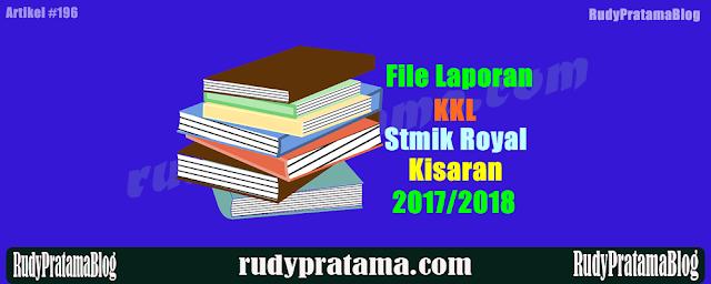 Laporan KKL Stmik Royal Kisaran