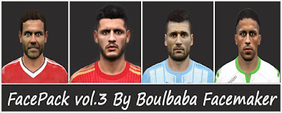 Pes 2016 FacePack Vol.3 By Boulbaba Facemaker
