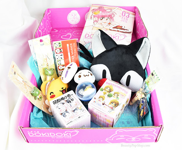 JapanCrate.com Doki Doki kawaii subscription review