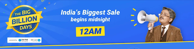 Flipkart The Big Billion Days Day 1
