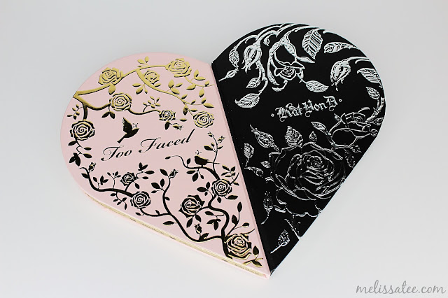 too faced x kat von d better together ultimate eye collection, too faced x kat von d better together ultimate eye collection review, better together review, eyeshadow palette, too faced eyesshadow palette, kat von d eyeshadow palette