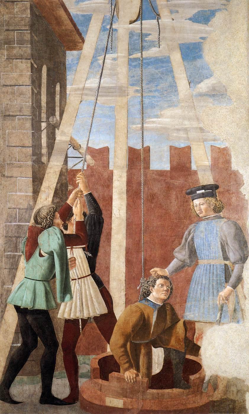 Piero  della  Francesca  The  History  of  the  True  Cross        Torture  of  the  Jew