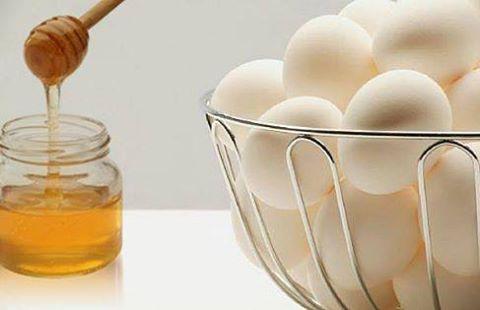 ماسك البيض بالعسل لتنقية البشرة وجعلها صافية كالبللور .