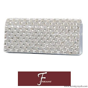 Crown Princess Mary carried J. Furmani Stone Flap Clutch Bag