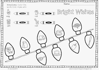 Mrs. Lowes' Kindergarten Korner: No Prep Christmas Math