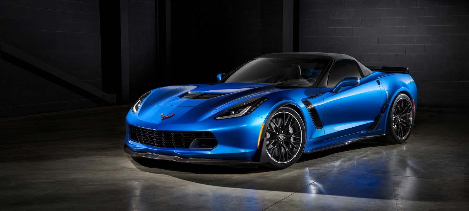 The all-new, 2015 Corvette Z06 will be one of the most capable convertibles on the market, offering at least 625 hp, 0-60 acceleration in under 3.5 seconds, true aerodynamic downforce, and available performance hardware including carbon-ceramic brakes and Michelin Pilot Sport Cup tires.  © General Motors