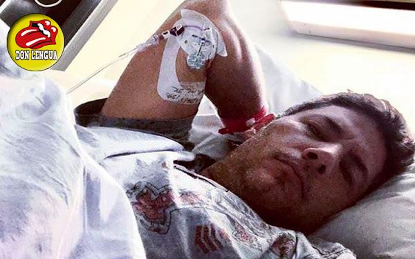 Fernando del Rincón fue Hospitalizado de Emergencia