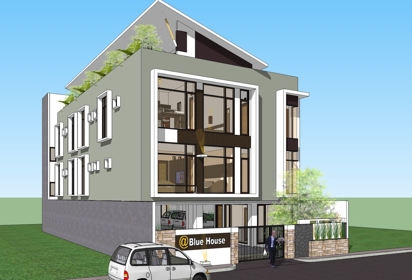 Gambar Desain Rumah Kost Minimalis 1 Lantai Terbaru Desain Rumah