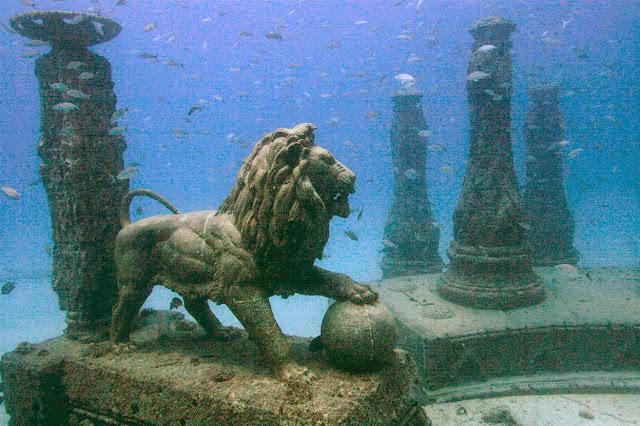Kota-kota yang Tenggelam ke Dasar Laut