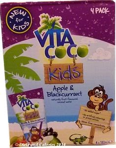 Vita Coco coconut water kids apple & blackcurrant