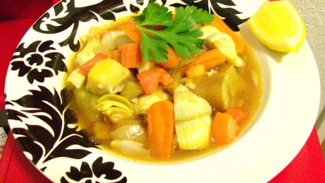 This tasty homemade vegetable soup is great for the cold winter Lebanese Vegetable Soup Recipe