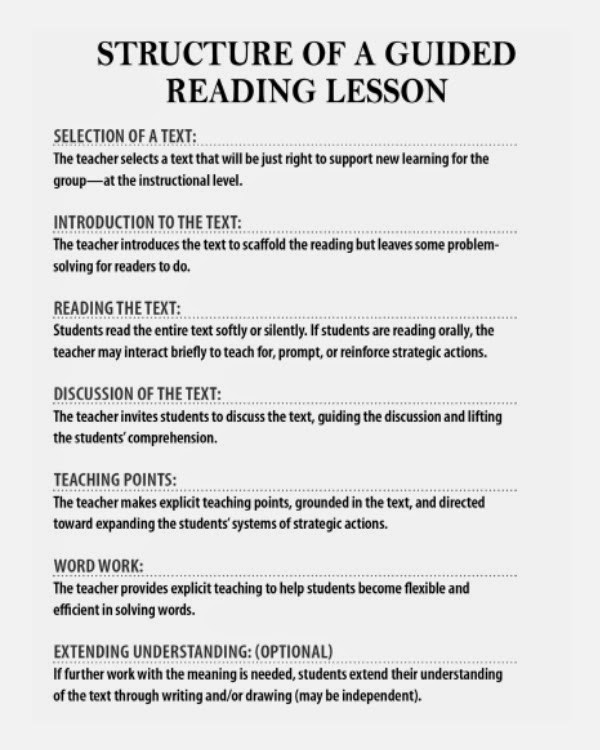 Literacy with a Twist December 2014 - guided reading lesson plan template fountas and pinnell