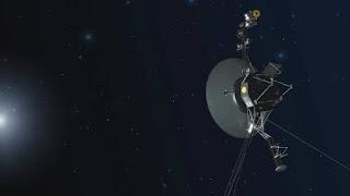 Απεικόνιση του διαστημόπλοιων Voyager. Το πιο μακρινά και μακροβιότερα διαστημόπλοια της ανθρωπότητας γιορτάζουν τα 40 χρόνια τον Αύγουστο και τον Σεπτέμβριο του 2017.