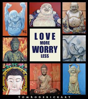 Love more Worry Less Boulder artist Tom Roderick