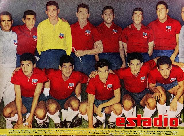 Formación de Chile ante Perú, Campeonato Sudamericano 1959, 21 de marzo