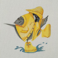 PAINTED CANVAS OF THE DAY FROM BARBARA TOURTILLOTTE/HINGHAM SQUARE NEEDLEPOINT