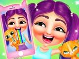 """في لعبة """"مغامرات العالم: تصفية الهوس"""" للفتيات ، سوف تساعد شخصيتنا الرئيسية في الاستعداد لمقابلة أصدقائها"""