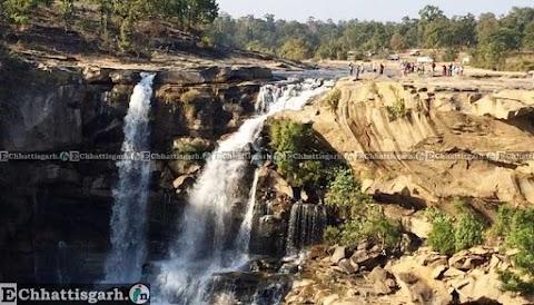 Amrit Dhara Waterfall information by www.EChhattisgarh.in