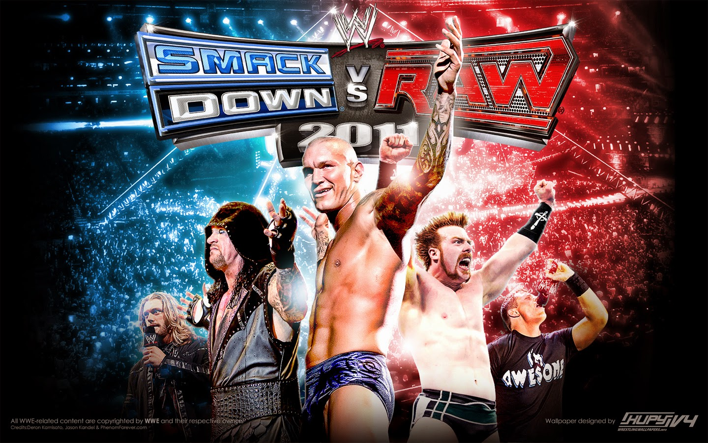 WWE Smackdown Vs Raw 2011 PC Full Español