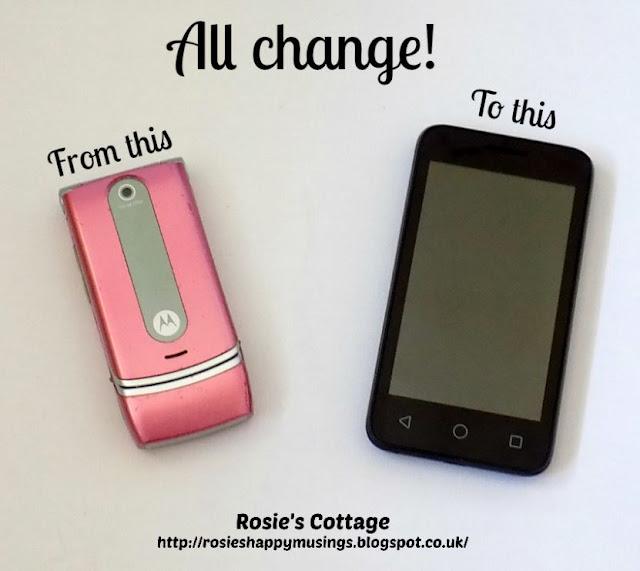 All change - new phone & instagram