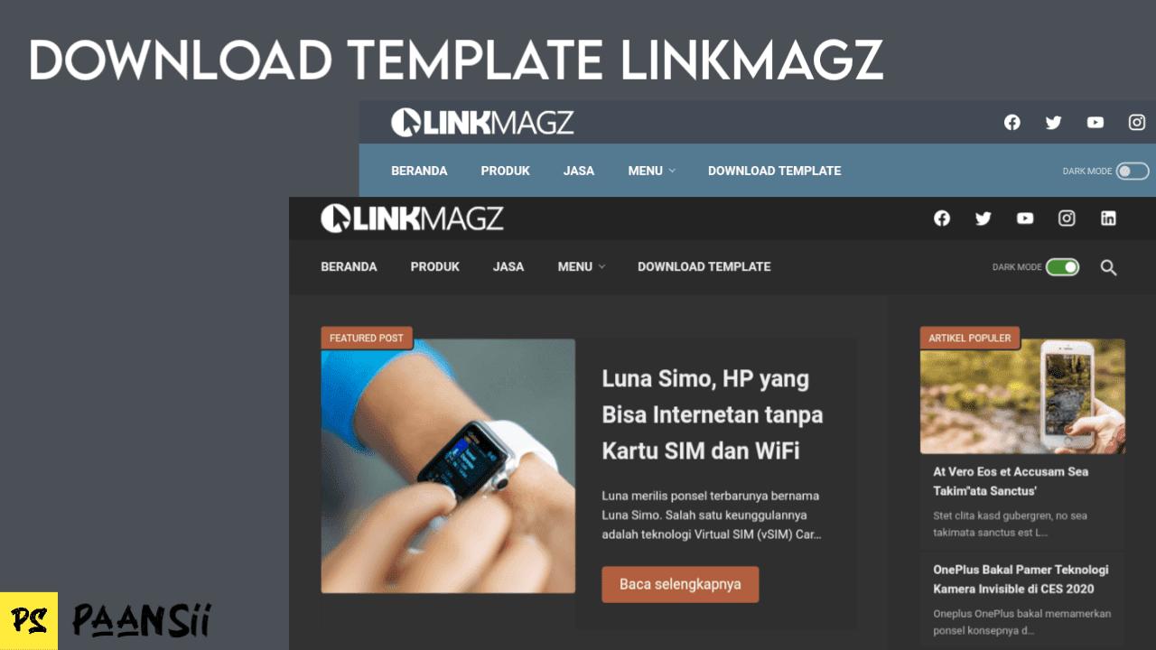 Download Template LinkMagz Terbaru