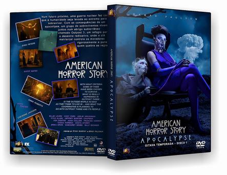 SÉRIE – American Horror Story Apocalypse 8ª Temporada Completa 2 DISCOS – AUTORADO