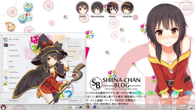 Download Tema Windows 10 1607 Megumin - Kono Subarashii Sekai ni Shukufuku wo!