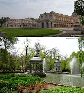 escapada a Aranjuez: Palacio y Jardines del príncipe