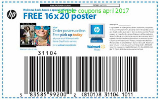 Walmart coupons april 2017