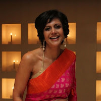 splendid majestic Mandira bedi latest photos in saree