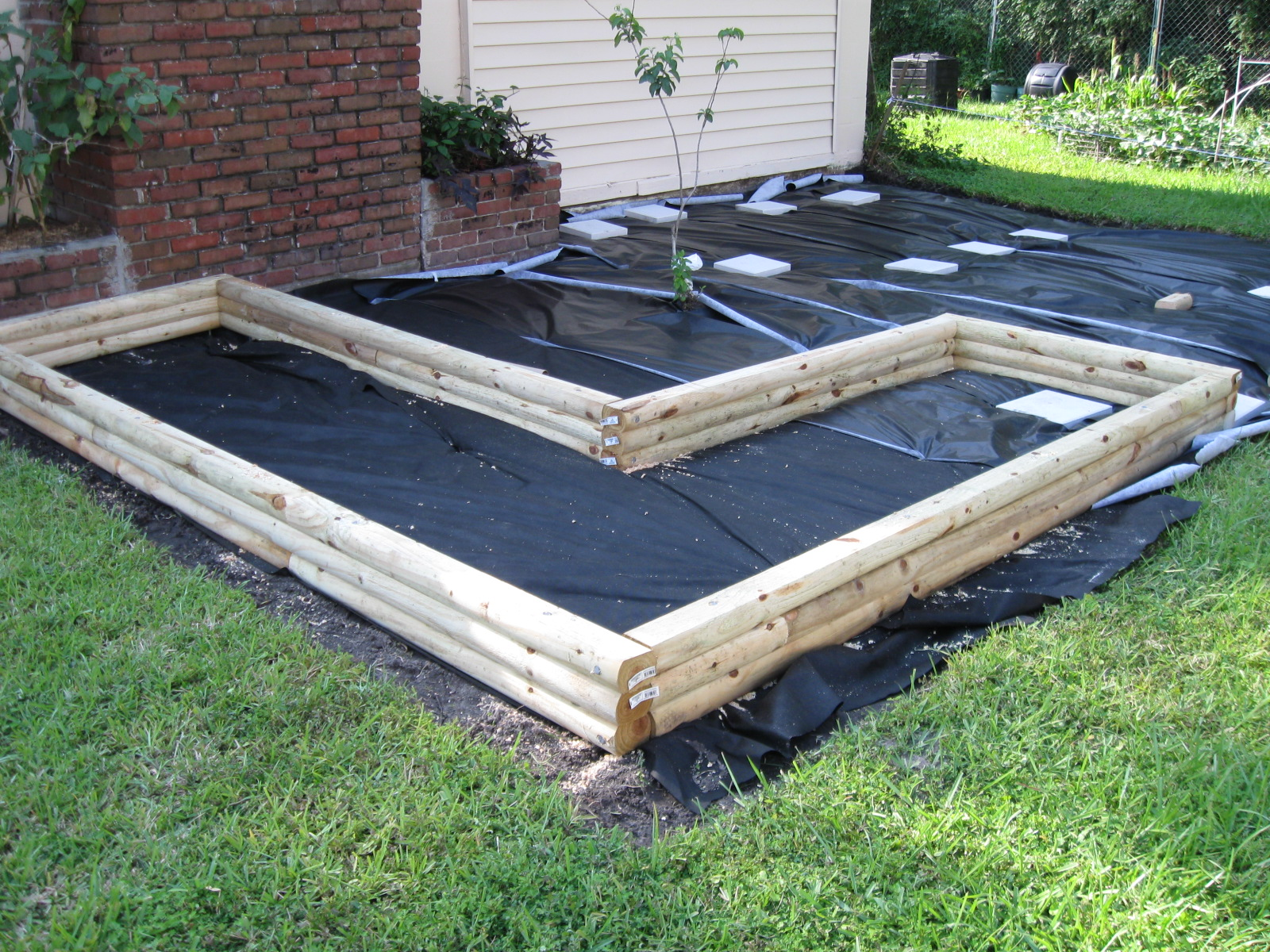 Landscape Timbers Raised Bed Ideas