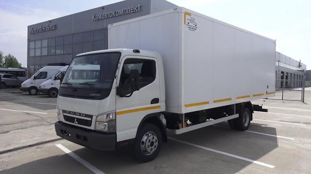 gambar mitsubishi fuso canter truk box