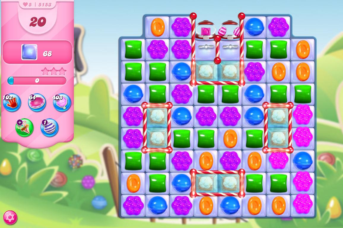 Candy Crush Saga level 5153