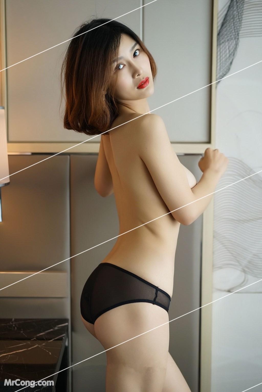 Image Yan-Pan-Pan-Part-3-MrCong.com-024 in post Ngắm vòng một siêu gợi cảm với nội y của người đẹp Yan Pan Pan (闫盼盼) (51 ảnh)