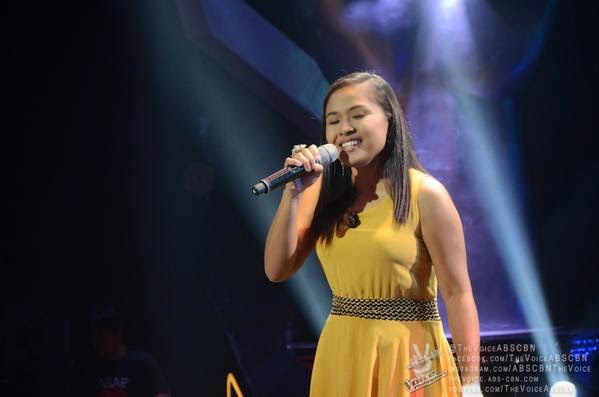 Youtube sensation Alisah Bonaobra belts out 'Domino' on 'The Voice PH'